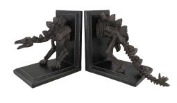 Stegosaurus Skeleton Head and Tail Bookends Set of 2