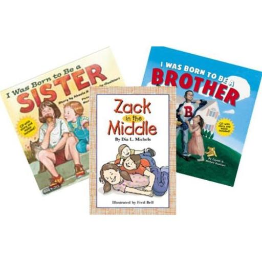 Platypus Media Sibling Book Set - 3 Book Set With Audio CD