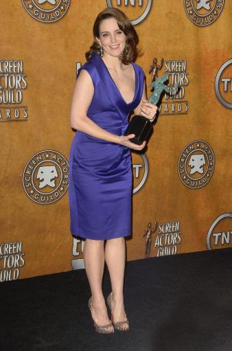Tina Fey In The Press Room For 16Th Annual Screen Actors Guild Sag Awards - Press Room, Shrine Auditorium, Los Angeles, Ca January 23, 2010. Photo.