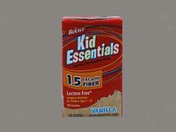Boost Kid Essentials Nutritionally Complete Drink, 1.5 Cal, Vanilla With Fiber - 27 Pack