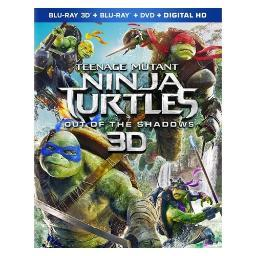 Tmnt 2-out of the shadows (blu-ray/dvd/3d/combo/uv/2016) (3-d) BR59180515