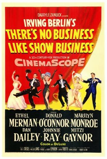 There's No Business Like Show Business Movie Poster Print (27 x 40) WNNKQVU2YHLTMULU
