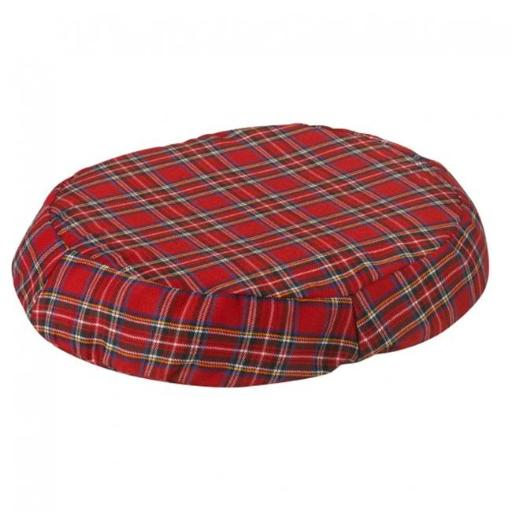 Jobri BH1016PL BetterHealth Ring Cushion 16 in. Plaid Cover