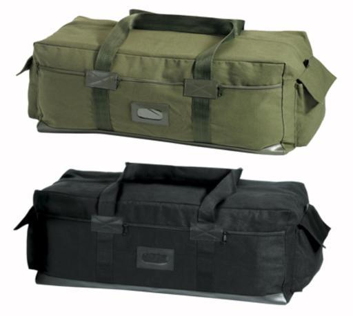 Israeli Style Duffle Bag In Olive Drab or Black