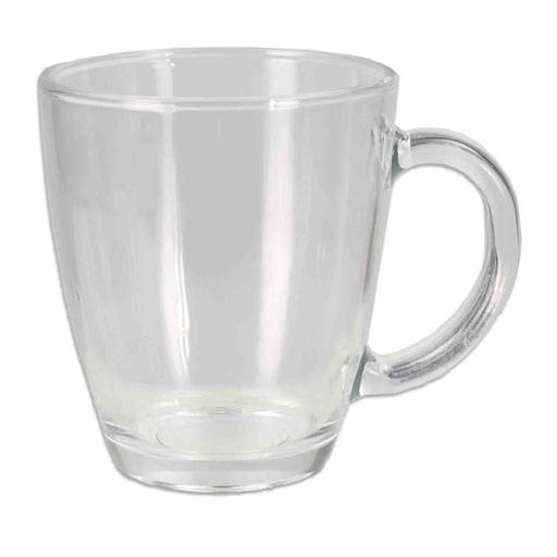 Home Basics GC44711 12oz Glass Coffee Mug