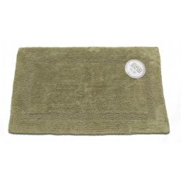 Carnation Home Fashions BM-M2L-42 Reversible 100 Percent Cotton Bath Rug, Size 21 in. x 34 in. - Sage