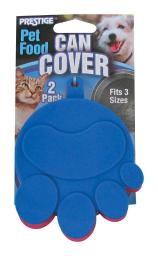 Prestige Prints Assorted Plain Rubber 1 oz. Pet Food Storage Container For Universal - Case Of: 1;