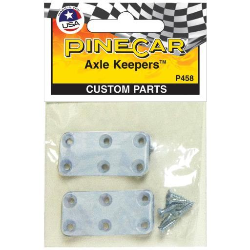 Pine Car Derby Custom Parts Axle Keepers