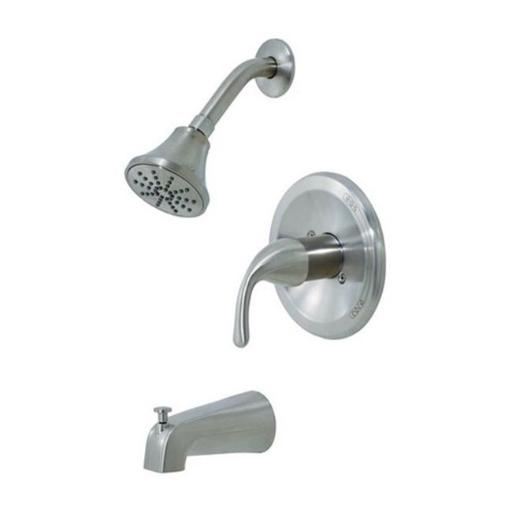 Oakbrook F1A14516ND-ACA2 Brushed Nickel Single Handle Tub & Shower Faucet