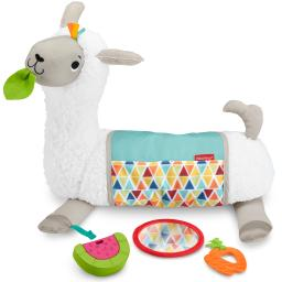 Fisher-price grow-with-me tummy time llama fxc36
