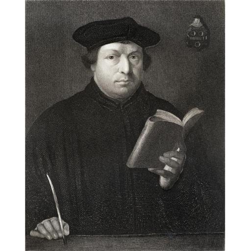 Posterazzi DPI1858778LARGE Martin Luther 1483-1546 German Theologian & Religious Reformer From The Book Gallery of Portraits Published London Poster P