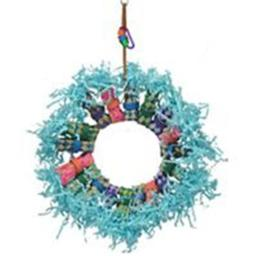 A & E Cage 001543 Happy Beaks Fire Ring, Multicolor