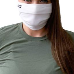 Tultex 4-Pack 100% Cotton Reusable Pleated Face Mask,  Brand New
