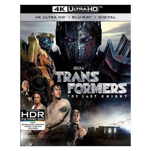 Transformers-last knight (blu ray/4kuhd/ultraviolet/digital hd) (2discs)