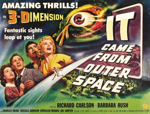 It Came From Outer Space From Left: Barbara Rush Richard Carlson Charles Drake Kathleen Hughes 1953. Movie Poster Masterprint