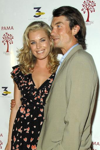 Jerry O'Connell, Rebecca Romijn At Arrivals For Pama Pomegranate Liqueur & 3 Arts Entertainment 2007-2008 Tv Network Upfronts Previews.