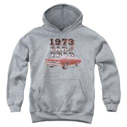 Chevy Car Of The Year Big Boys Youth Pullover Hoodie Athletic Heather