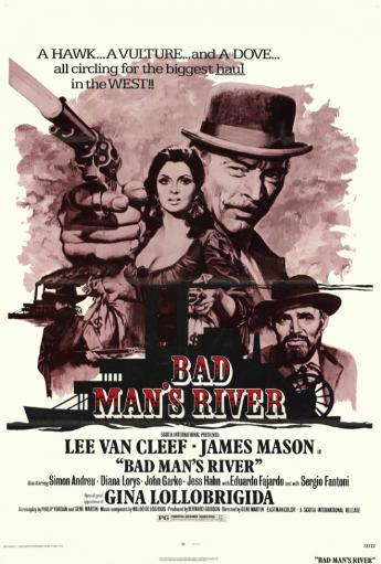 Bad Man's River Movie Poster Print (27 x 40) RV3MGTLSCLGGO9AX