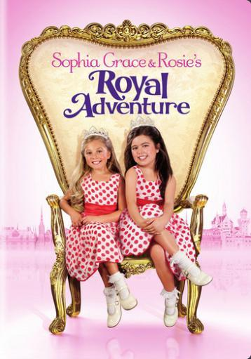 Sophia grace & rosies royal adventure (dvd) MTELIET3ALBUCBJY