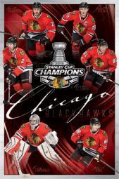 2015 Chicago Blackhawks Stanley Cup - Champs Poster Print TIARP13719
