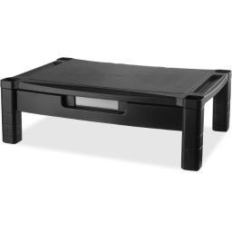 Kantek inc. ms520 wide adjustable monitor stand w/drawer