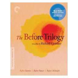 Before trilogy (blu-ray/ws 1.85/2.0 sur/3 disc/before-sunrise/sunset/midni) BRCC2722