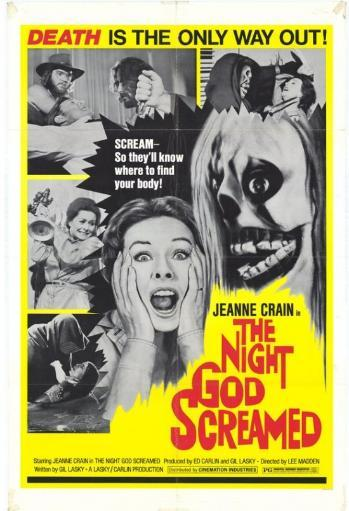 The Night God Screamed Movie Poster (11 x 17)