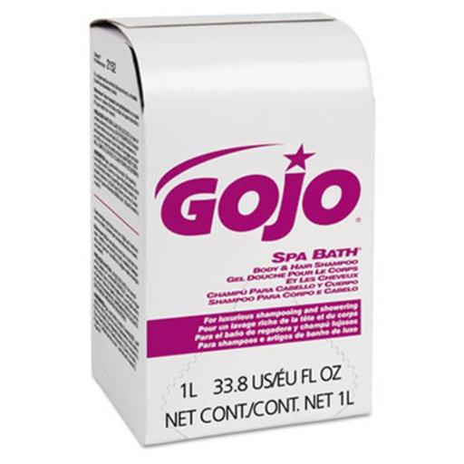Go-Jo Industries GOJ2152 Nxt 1000 ml Rose Herbal Scent Refill Spa Bath Body & Hair Shampoo, 8 Per Carton