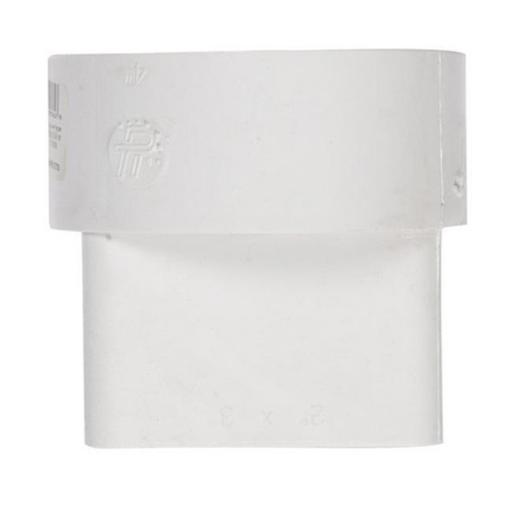 Plastic Trends P1904 2 x 3 x 4 in. Trends Downspout Adapter