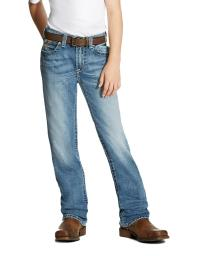 Ariat Western Denim Jeans Boys B4 Bonner Bootcut Canyon 10021856