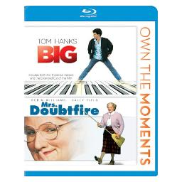 Big/mrs doubtfire  (double feature/blu-ray) BR2283717