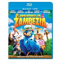 Adventures in zambezia blu ray/dvd combo 2pk  (1.33:1) BR41600