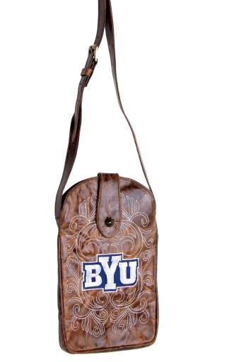 Gameday Purse Womens College Brigham Young Cougars Brass BYU-P029-1 2685D29F00BB5735