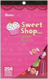 "Sticker Book 9.5""X6""-Sweet Shop 254/Pkg 106-812"