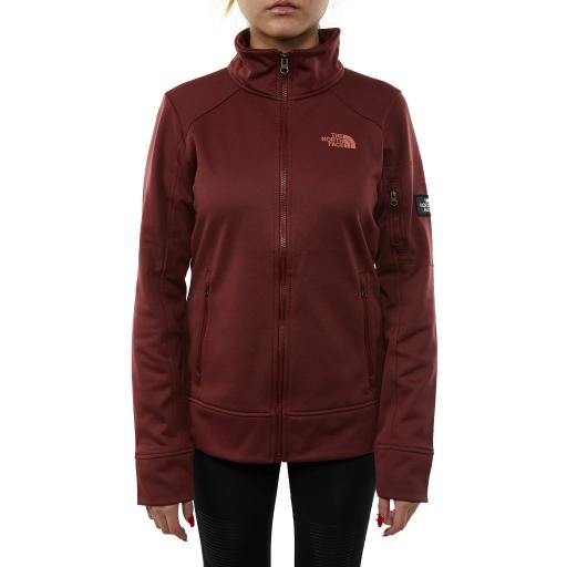 48e6a07c8 North Face Amazie Mays Full Zip Womens Style : A355m