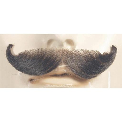 Morris Costumes LW410CBL English Blend Mustache, No.22 Champagne Blonde