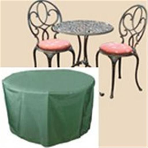43 in. Round Table & Chairs Cover- 33 in. high