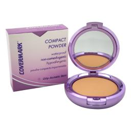 Covermark Compact Powder Waterproof - # 3 - Oily-Acneic Skin By Covermark For Women - 0.35 Oz Powder  0.35 Oz
