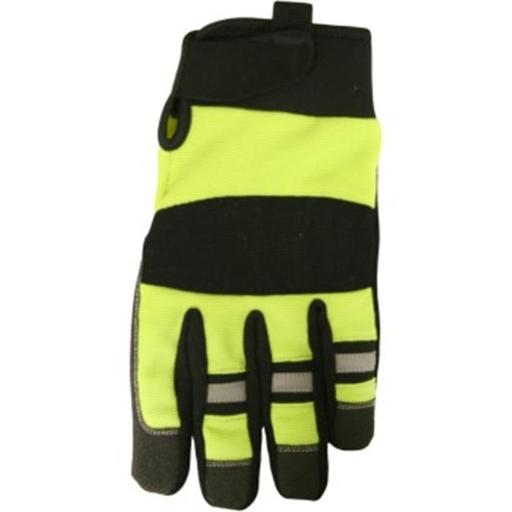 High-Visibility High - Dexterity Mechanic Glove - Extra Large