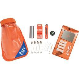 AMK 01401727 AMK SOL SCOUT SURVIVAL KIT W/ DRY BAG MIRRORSPARKER & MORE