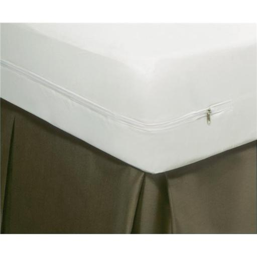Mattress Guard FRE114XXWHIT04 Allergy Relief Mattress Guard Mattress Protectors, White - King