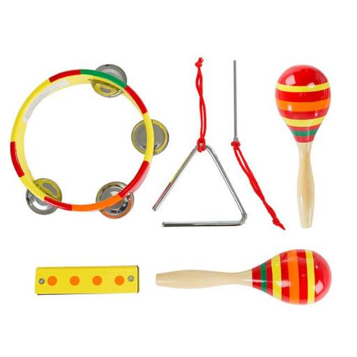 Hey Play M420019 Kids Percussion Musical Instruments Toy Set