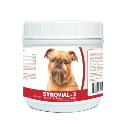 Healthy Breeds 840235103431 Brussels Griffon Synovial-3 Joint Health Formulation - 120 Count