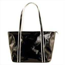 Catherine Lillywhite It1002bkwh Italian Black And White Tote