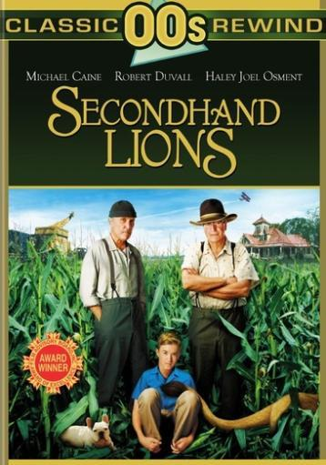 Secondhand lions (dvd/lion look) 6ZOKPFLBUVTDDJXT