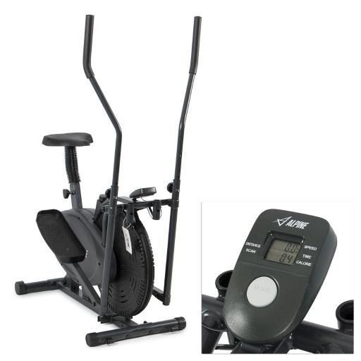 Akonza© Elliptical Bike 2 IN 1 Cross Trainer Exercise Fitness Machine Home Gym Workout