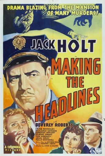 Making the Headlines Movie Poster (11 x 17)