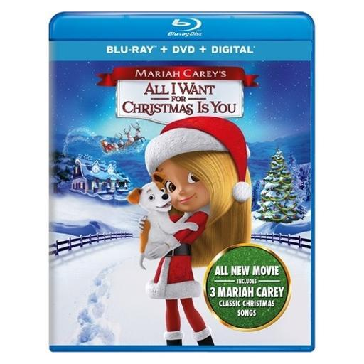 Mariah careys-all i want for christmas is you (blu ray/dvd w/digital) 1618270