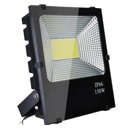DELight 150W LED Flood Light 15225LM Outdoor Security Work Spotlight Cool White 6500K IP66 960W Halogen Bulb Equivalent