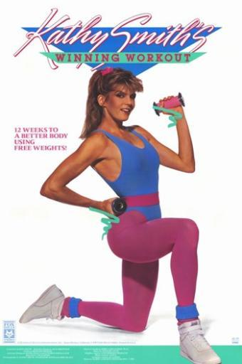 Kathy Smith Workout Series Winning Workout Movie Poster (11 x 17)